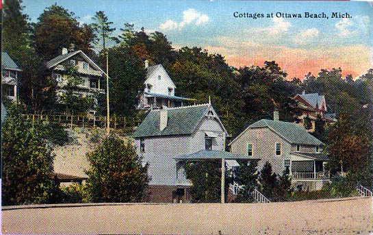 Ottawa Beach Is An Premier Example Of The Summer Cottage Resorts That Developed Along Lake Michigan S During Late Nineth Century