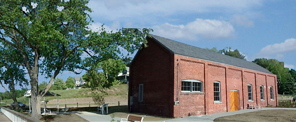 Phase One of the pump house restoration was completed in late May, 2015